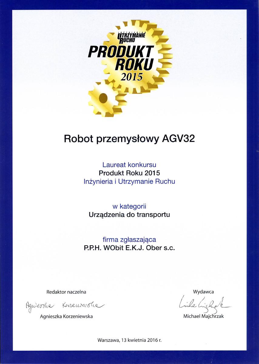 Produkt Roku 2015 - AGV32