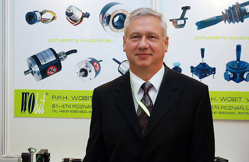 Witold Ober - założyciel firmy WObit