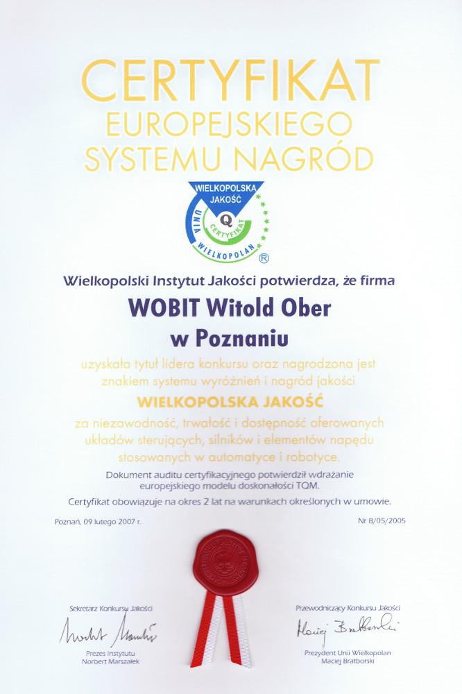 WIelkopolska Jakość 2007