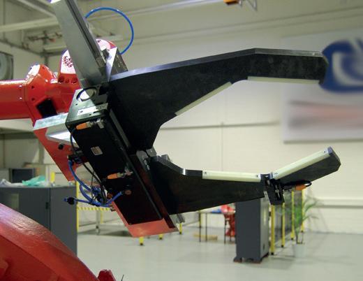 Chwytak dwuszczękowy równoległy odużym skoku serii GH6000