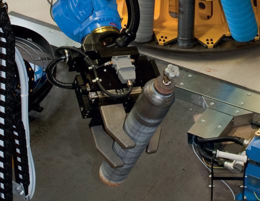 Chwytak dwuszczękowy równoległy odużym skoku serii GH7000