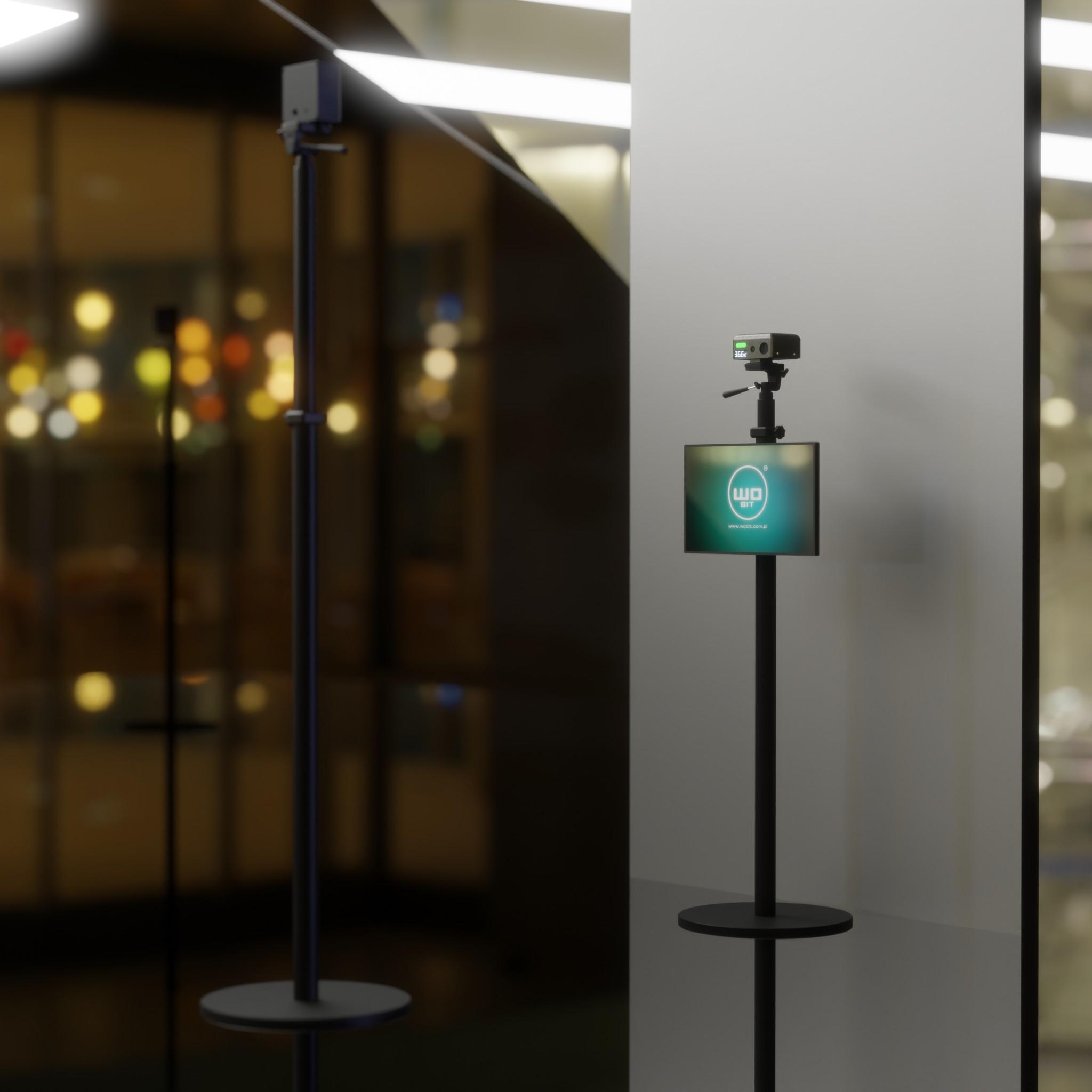 kamera temperatura