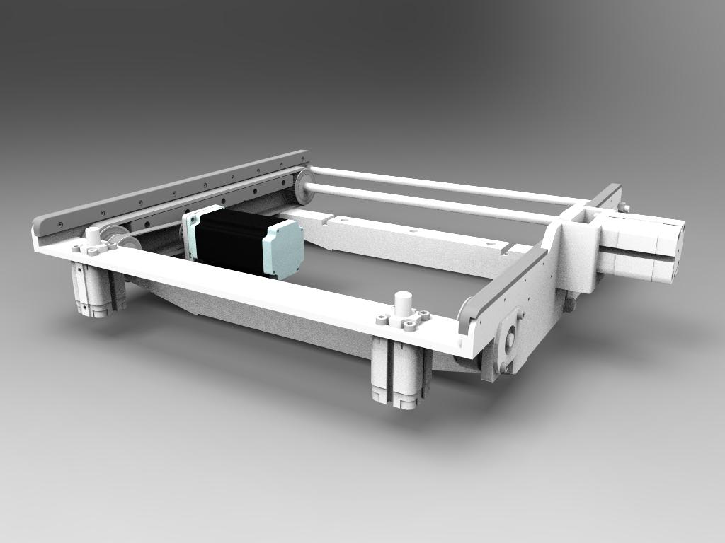 Moduł główny dotransportu ramek 415 mm