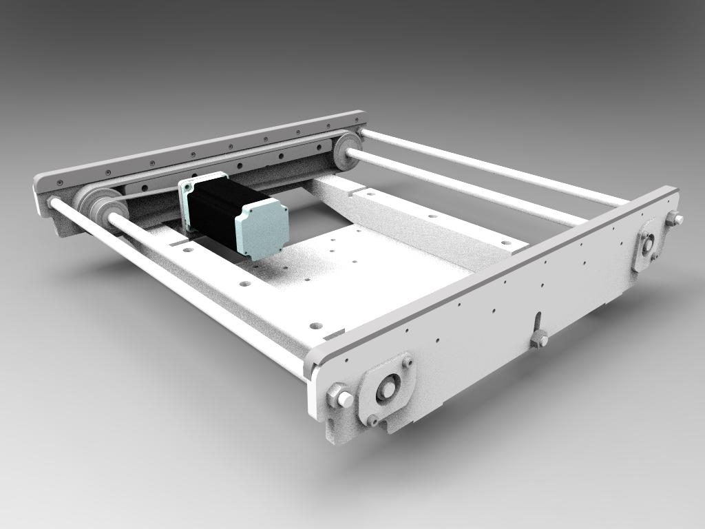 Moduł boczny dotransportu ramek 415 mm