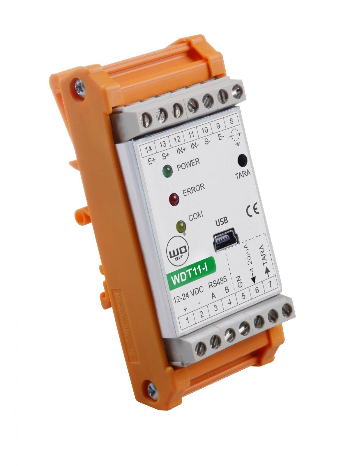 WDT11 – Nowy wzmacniacz doczujników siły