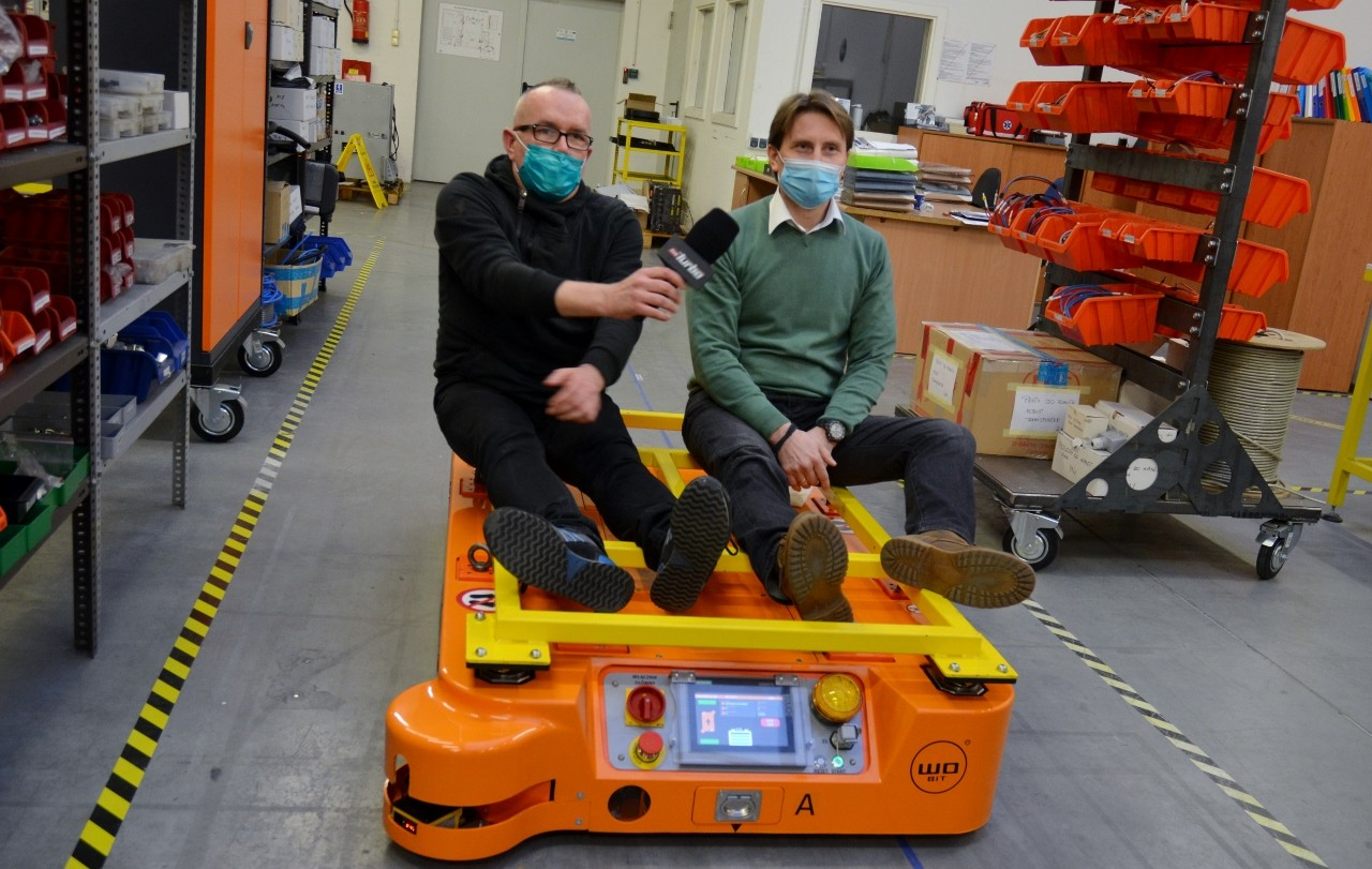 MOBOT® mobile robots inTVN Turbo