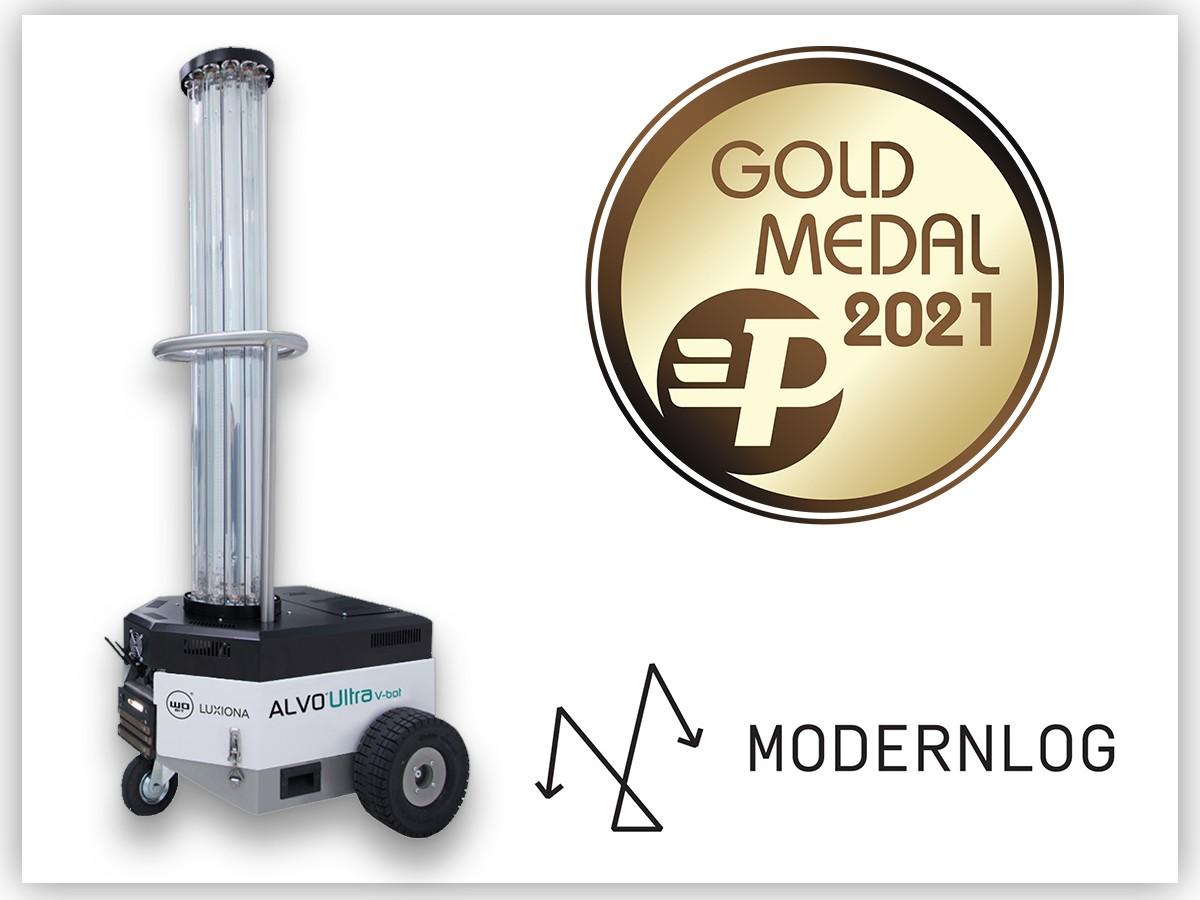 ALVO® Ultra V-bot złotym medalistą targów Modernlog!