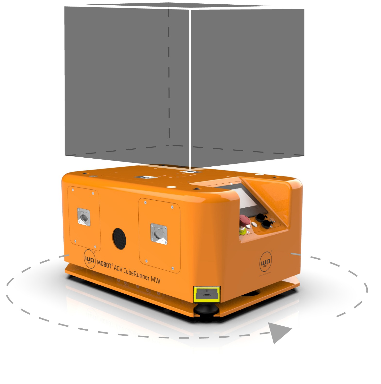 MOBOT® AGV CubeRunner MWmobile robot