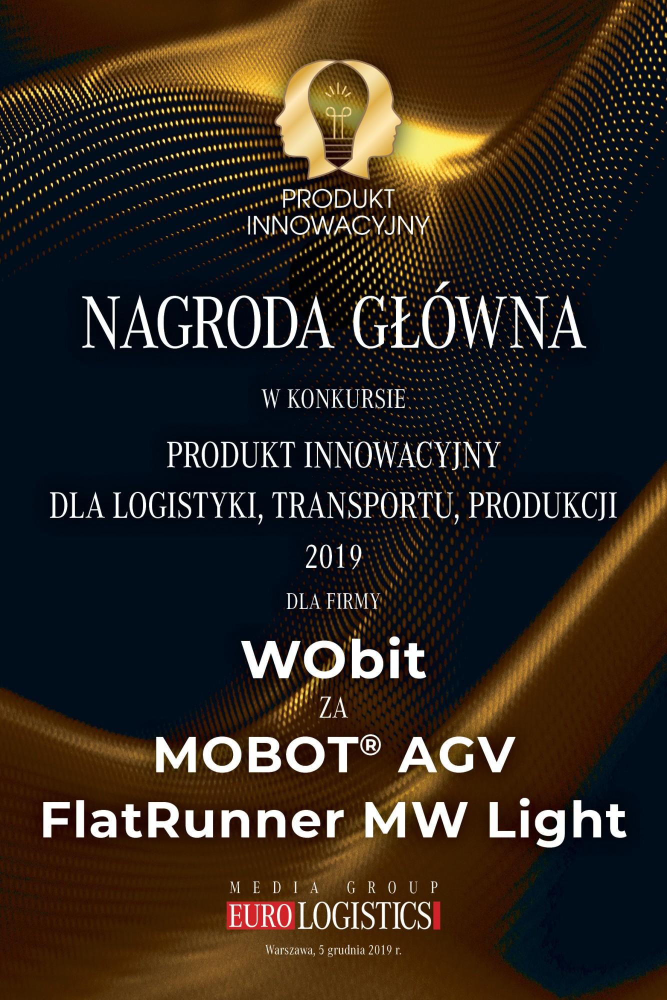 Produkt Innowacyjny dla Logistyki, Transportu, Produkcji 2019
