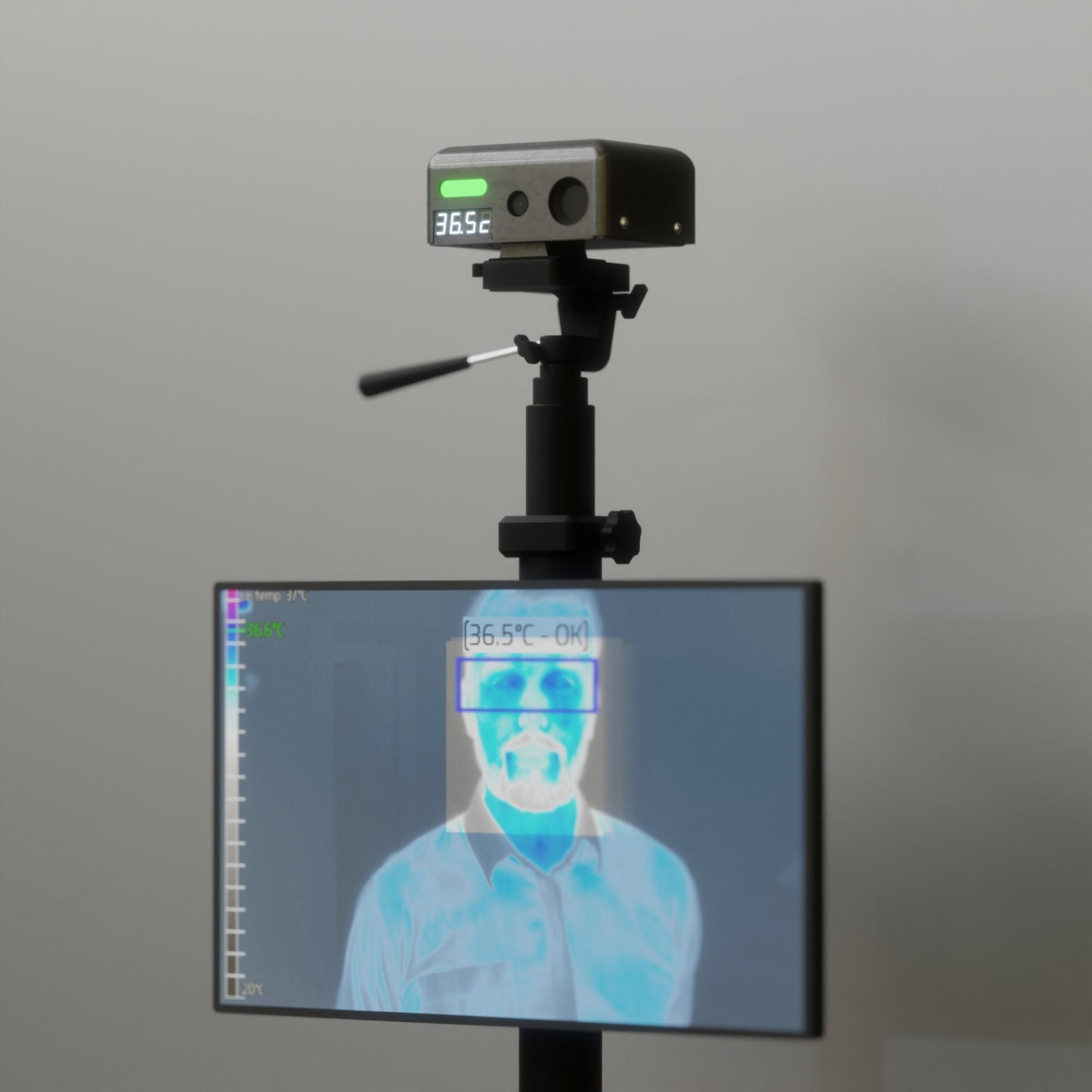 HeatBOT – system dopomiaru temperatury człowieka odfirmy WObit