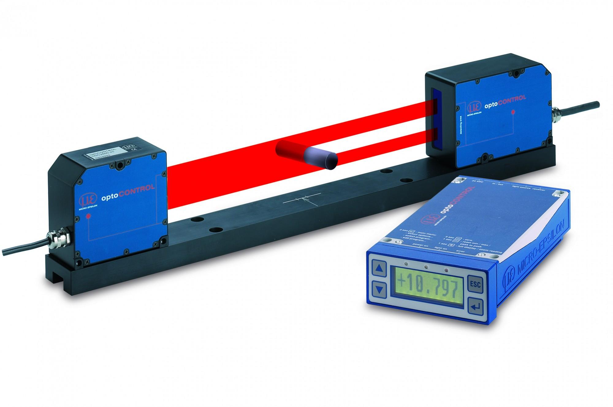 mikrometr laserowy optoCONTROL