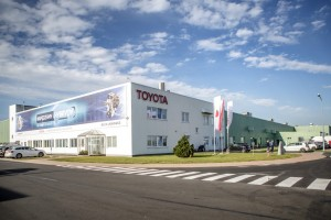 Toyota factory in WaÂbrzych