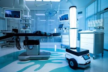 ALVO® Ultra V-bot – mobilny robot dezynfekujący UV-C