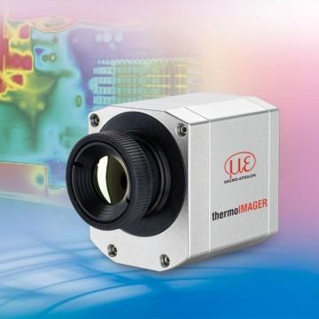 A very small infrared camera monitors thermodynamic processes