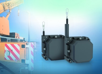 Rope sensors with IP69K for standard industrial applications