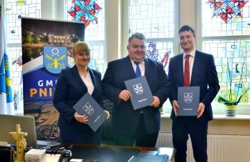 Wspólna inicjatywa współpracy Gminy Pniewy, WObit iSiemens Polska narzecz edukacji wzawodzie przyszłości
