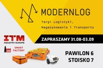 Zapraszamy na targi Modernlog 2021