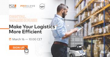 Zapraszamy nawebinar Digital Warehouse: Make Your Logistics More Efficient