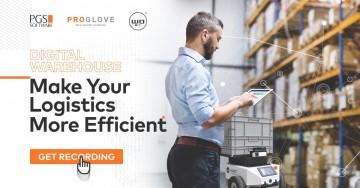 Zapraszamy nawebinar Magazyn cyfrowy: Zwiększ wydajność swojej logistyki wewnętrznej!