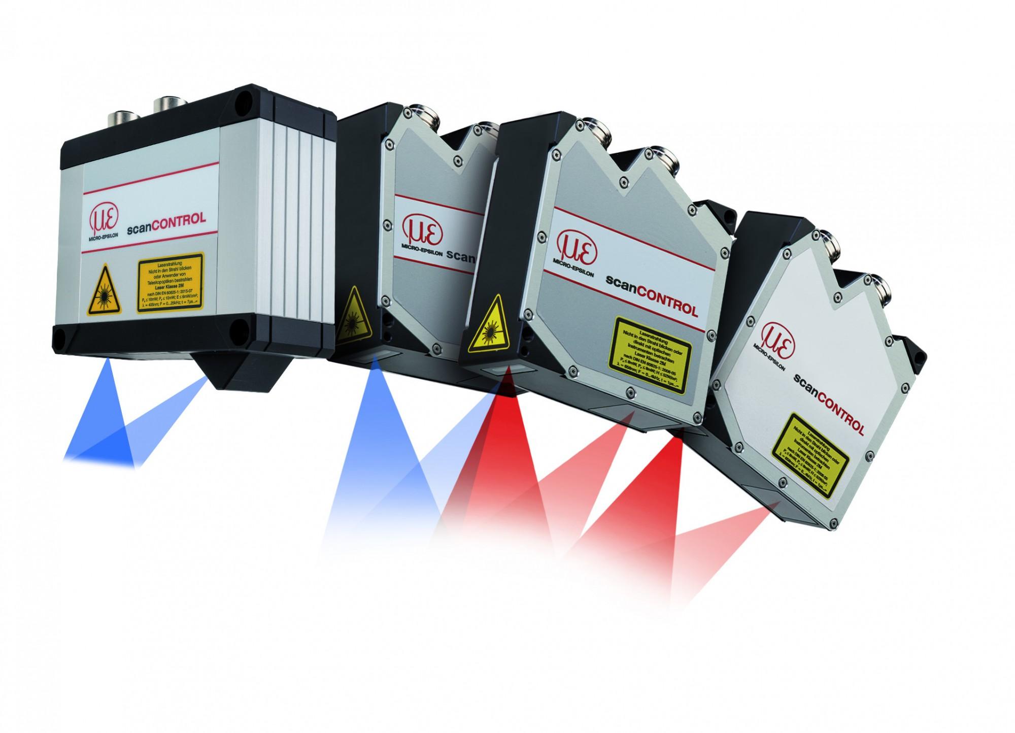 Nowe rozwiązania wskanerach laserowych profilu Micro-Epsilon