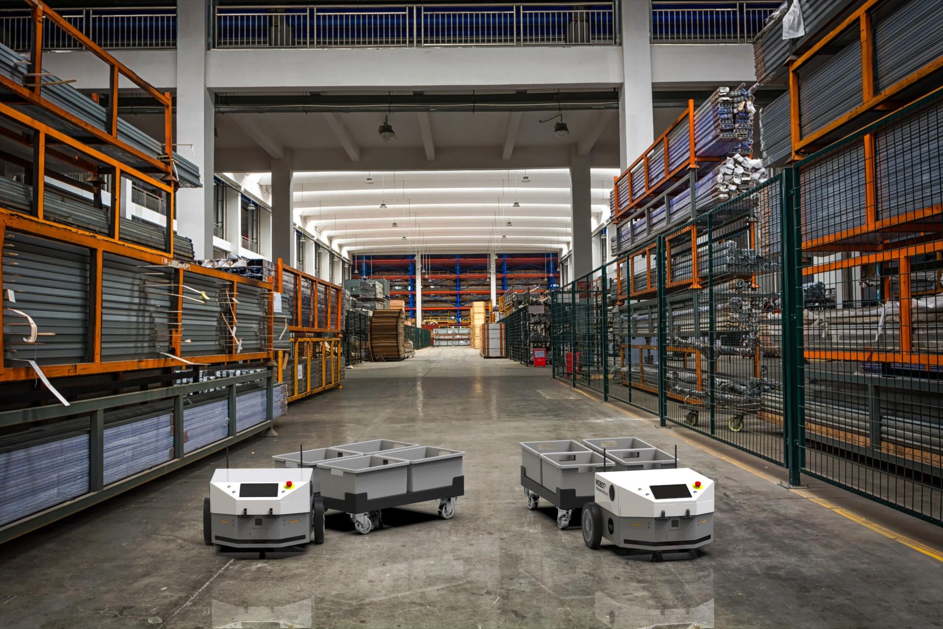 Nowy autonomiczny robot mobilny MOBOT® TRANSPORTER T5