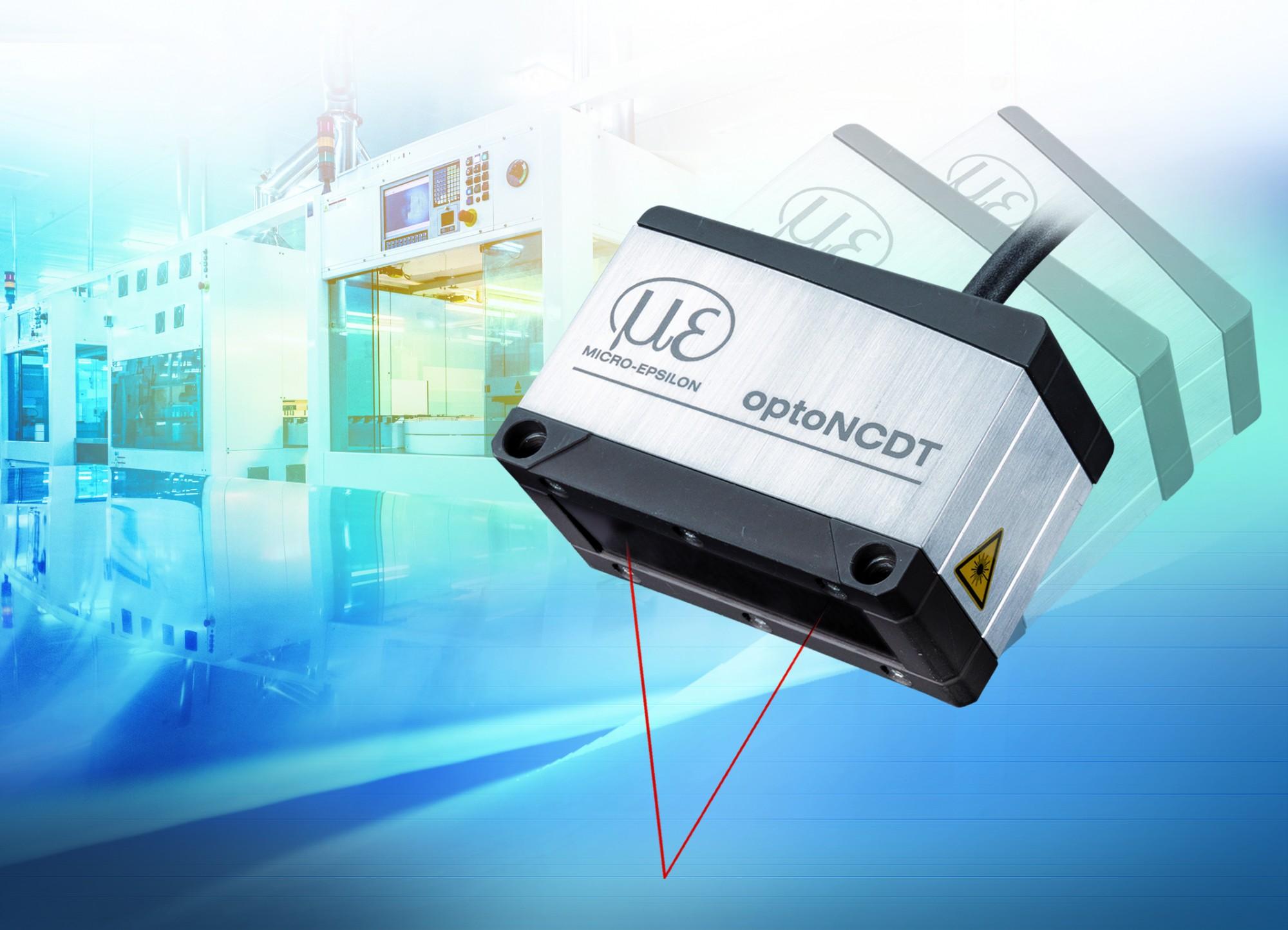 optoNCDT 1900: czujnik laserowy zapewniający maksymalną precyzję w kompaktowej konstrukcji