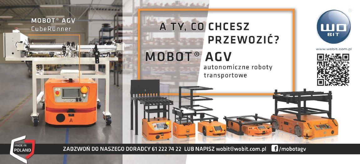 Robot mobilny MOBOT® AGV CubeRunner automatyzuje kolejny proces wbranży motoryzacyjnej