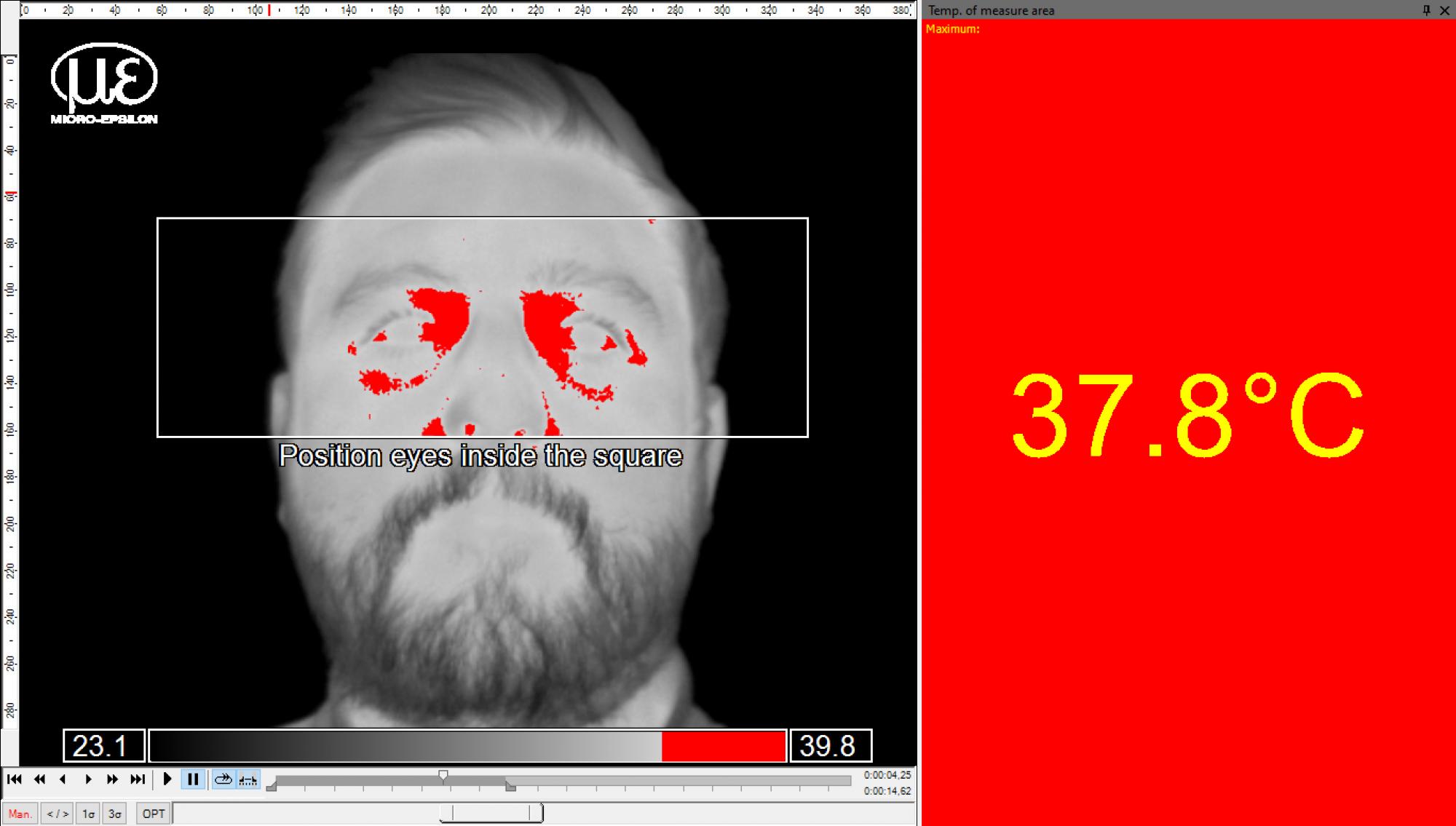 Zalecenia dotyczące detekcji podwyższonej temperatury ciała zużyciem kamer TIM thermoIMAGER