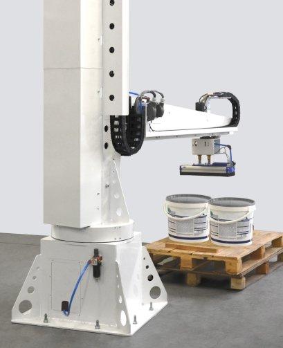 Robotics, palletising, packaging