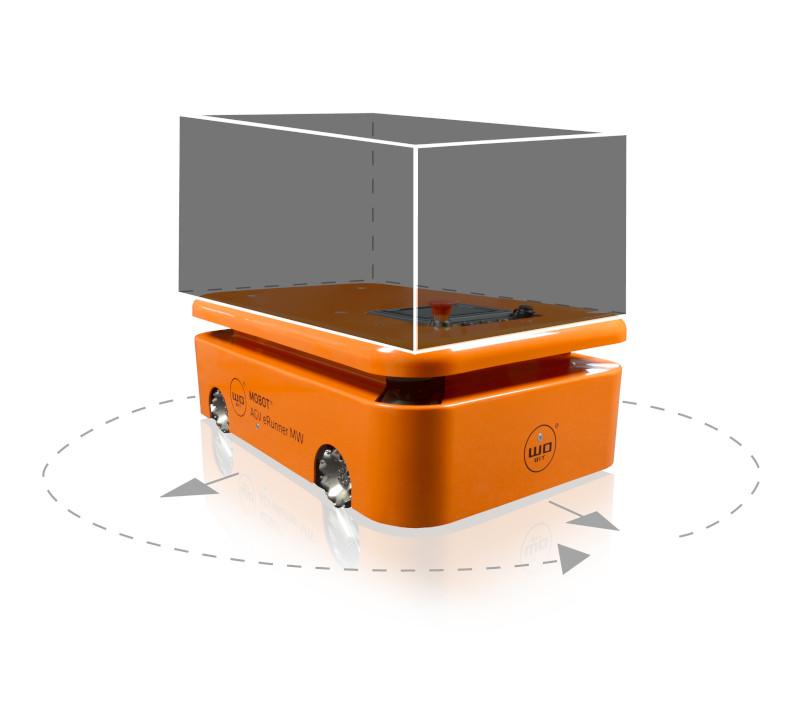 Mobile robot MOBOT AGV eRunner MW