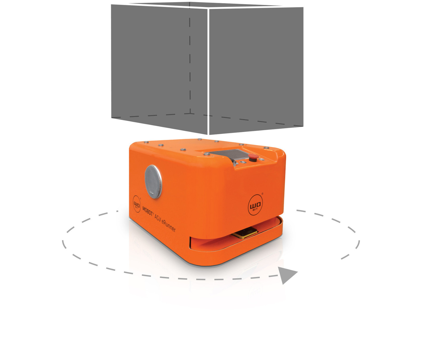 MOBOT® AGV eRunner 003 mobile robot