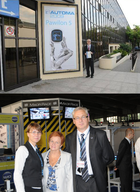 Dzięki wielkiej pasji Witolda Obera do automatyki WObit współtworzył nowe targi branżowe - AUTOMA w Poznaniu. Firma zaprezentowała jedno z największych stoisk w swojej historii, pełne nowoczesnych urządzeń, inspirujące zarówno inżynierów jak i młodzież.