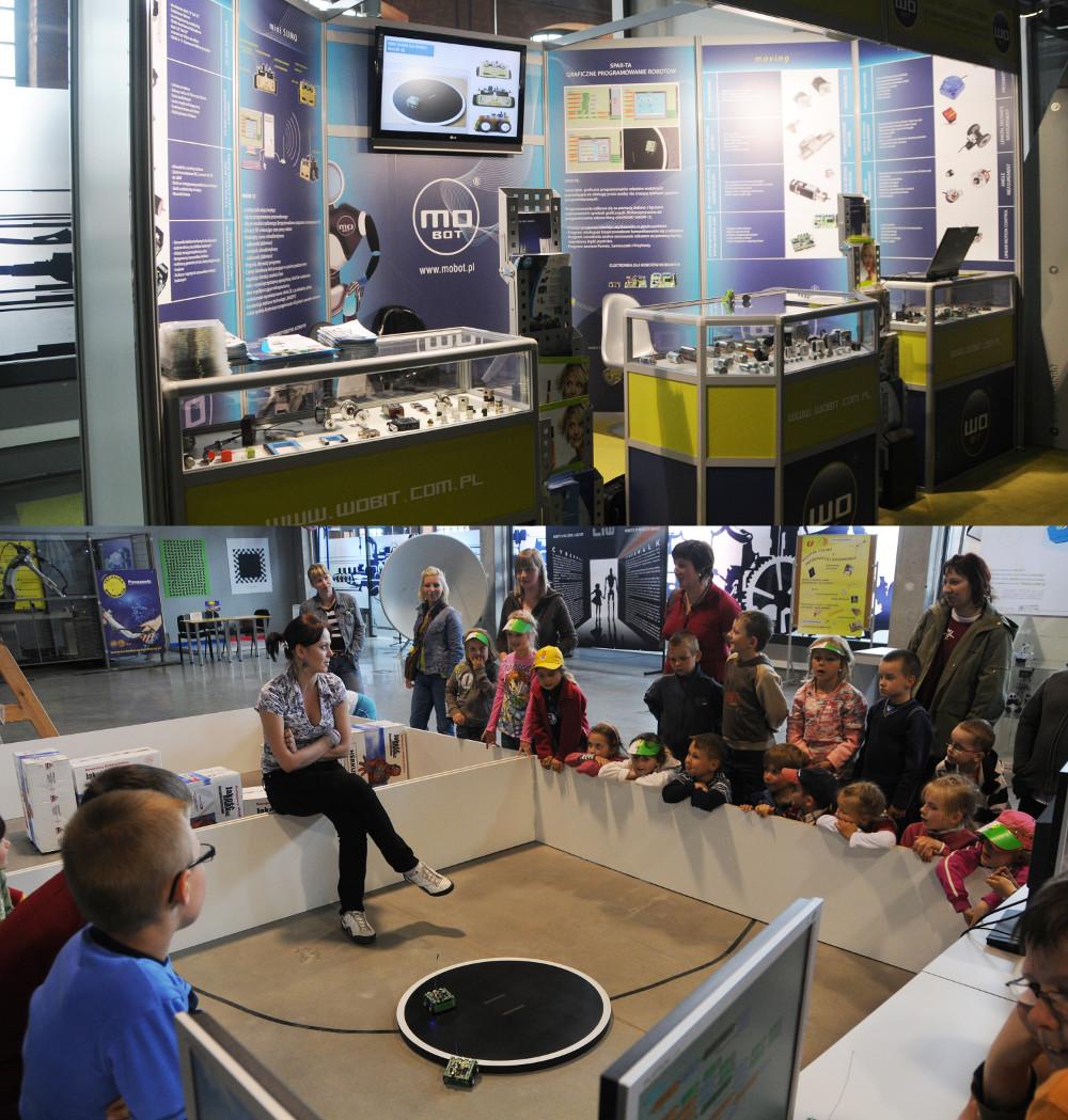 Dzięki inicjatywie Witolda Obera WObit bierze udział w Eksperymentarium w Łodzi - wydarzeniu promującym automatykę i robotykę wśród najmłodszych.