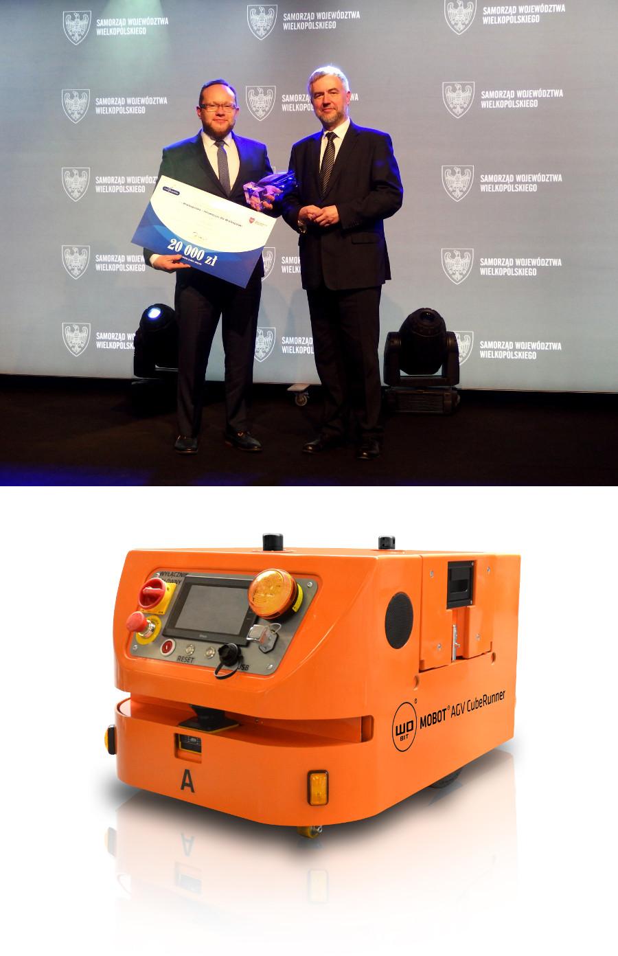 Firma WObit zajęła pierwsze miejsce w kategorii Przemysł Jutra w konkursie