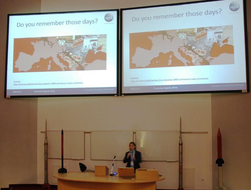 Wśród grona prelegentów Meet the Space, międzynarodowej konferencji naukowo-biznesowej, która ma na celu rozwój współpracy nauki i biznesu związanych z rozwojem technologii i badań kosmicznych, znalazł się Przemysław Degórski - Dyrektor Rozwoju, Produkcji i Sprzedaży w firmie WObit.