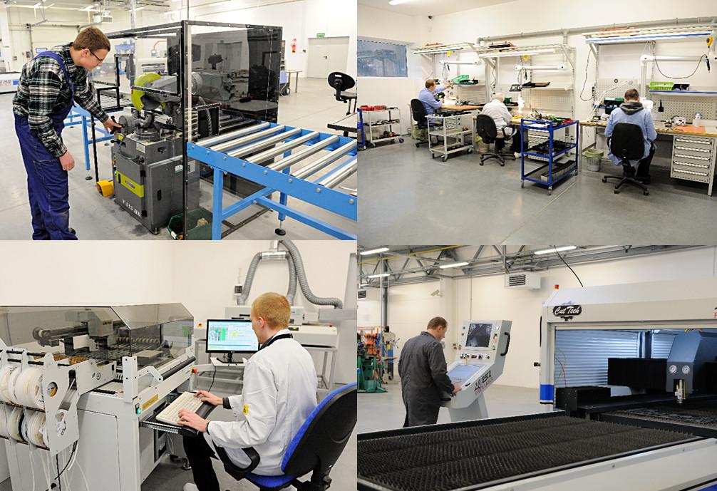 Siedziba firmy w Dęborzycach została wyposażona w nowoczesny park przemysłowy, który otworzył nowe możliwości rozwoju