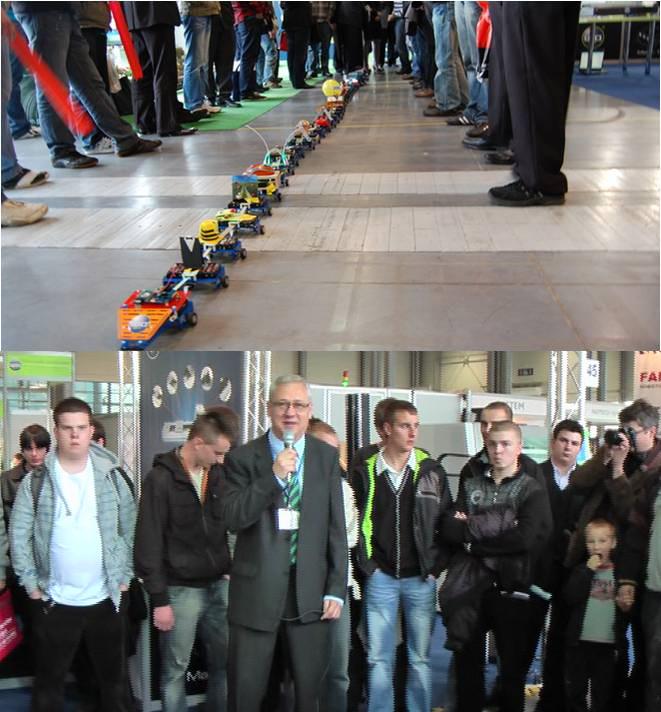 Młodzież szkół średnich ustanowiła rekord na najdłuższego wieloczłonowego robota mobilnego. Robosnake został zbudowany z 32 modułów i mierzył aż 6,2 metra długości. Robosnake znalazł się w Księdze Rekordów i Osobliwości.