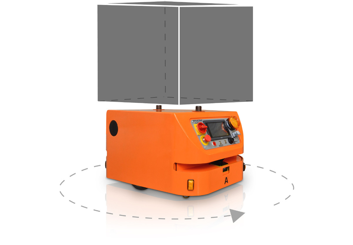 Robot mobilny MOBOT® AGV CubeRunner2 004