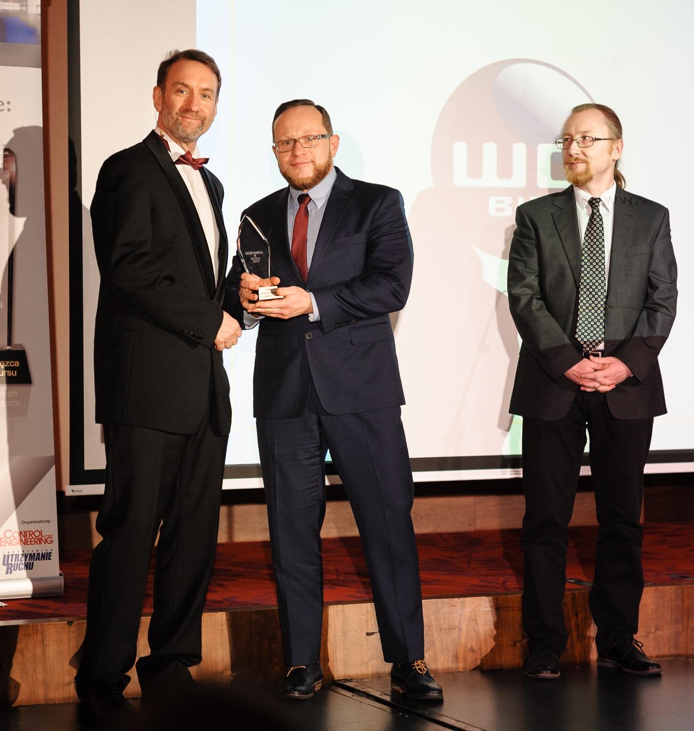 WObit otrzymał tytuł Dostawcy Roku 2017 w kategorii Automatyka przemysłowa