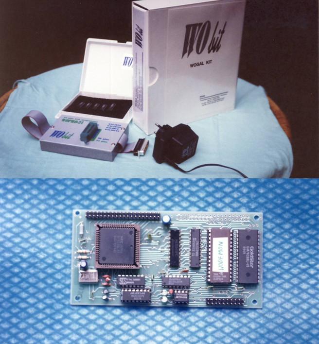 Pierwsze urządzenia: WOGAL - programator układu typu GAL oraz WODEMON - moduł i narzędzie programistyczne dla mikrokontrolera czasu rzeczywistego serii 78KIII. Witold Ober opracował je aby udostępnić nowoczesną technologię w przystępnej cenie inżynierom i młodym polskim firmom.