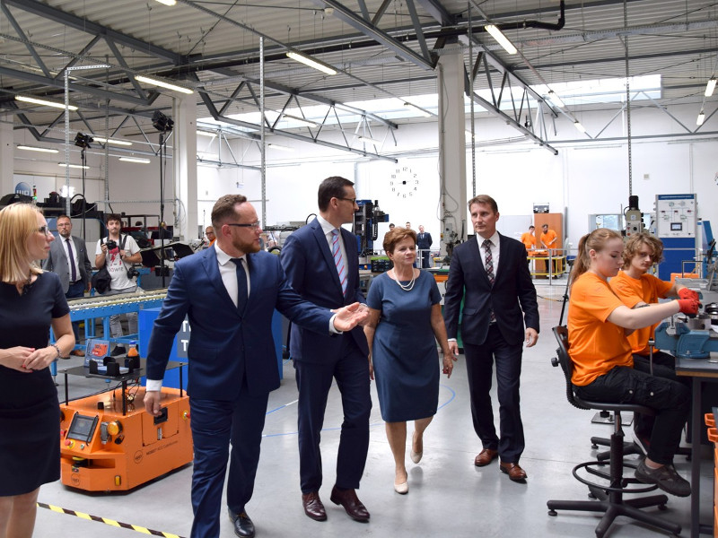 WObit gościł Premiera RP w Dęborzycach
