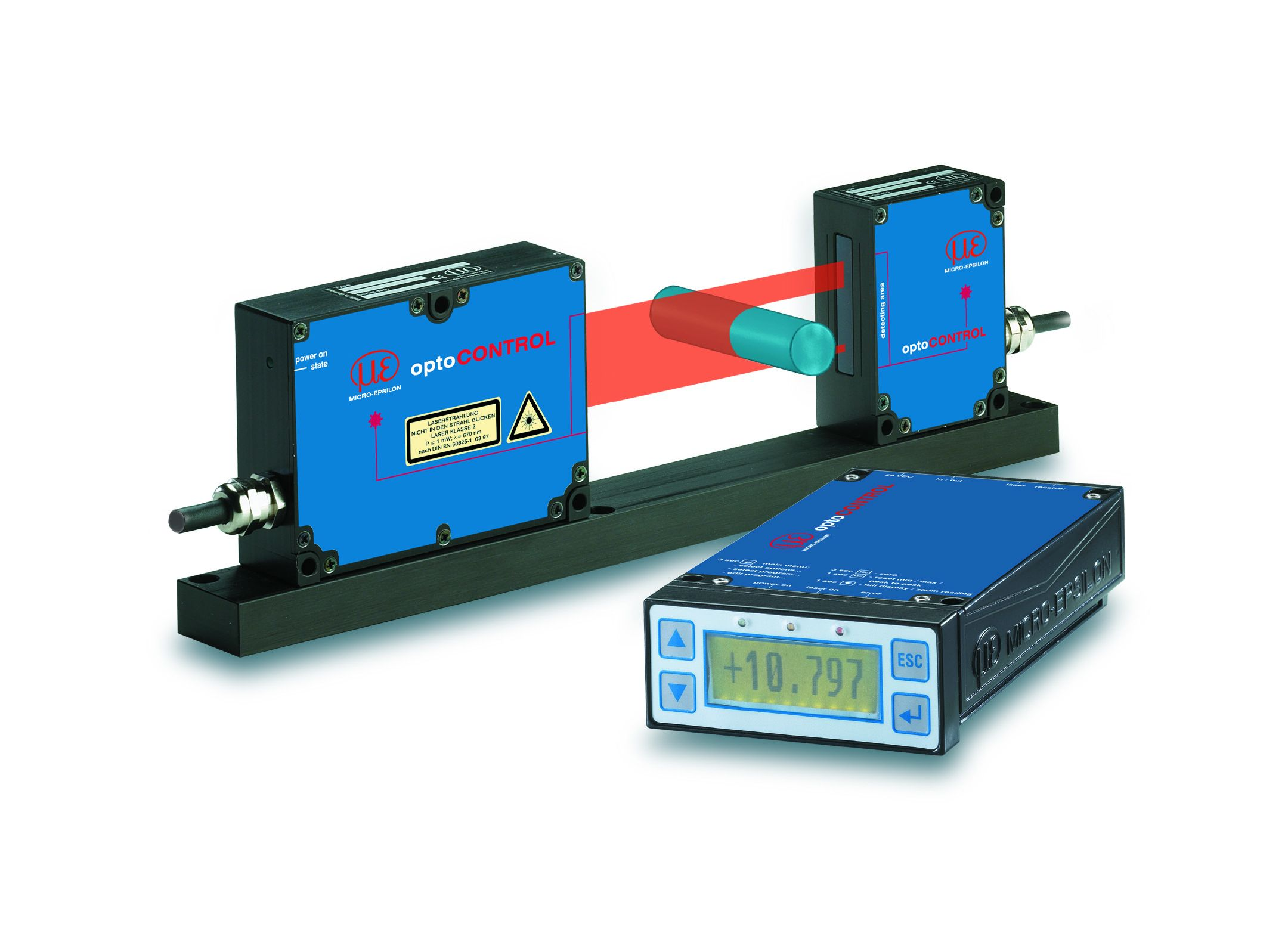 Mikrometr laserowy optoCONTROL 2500