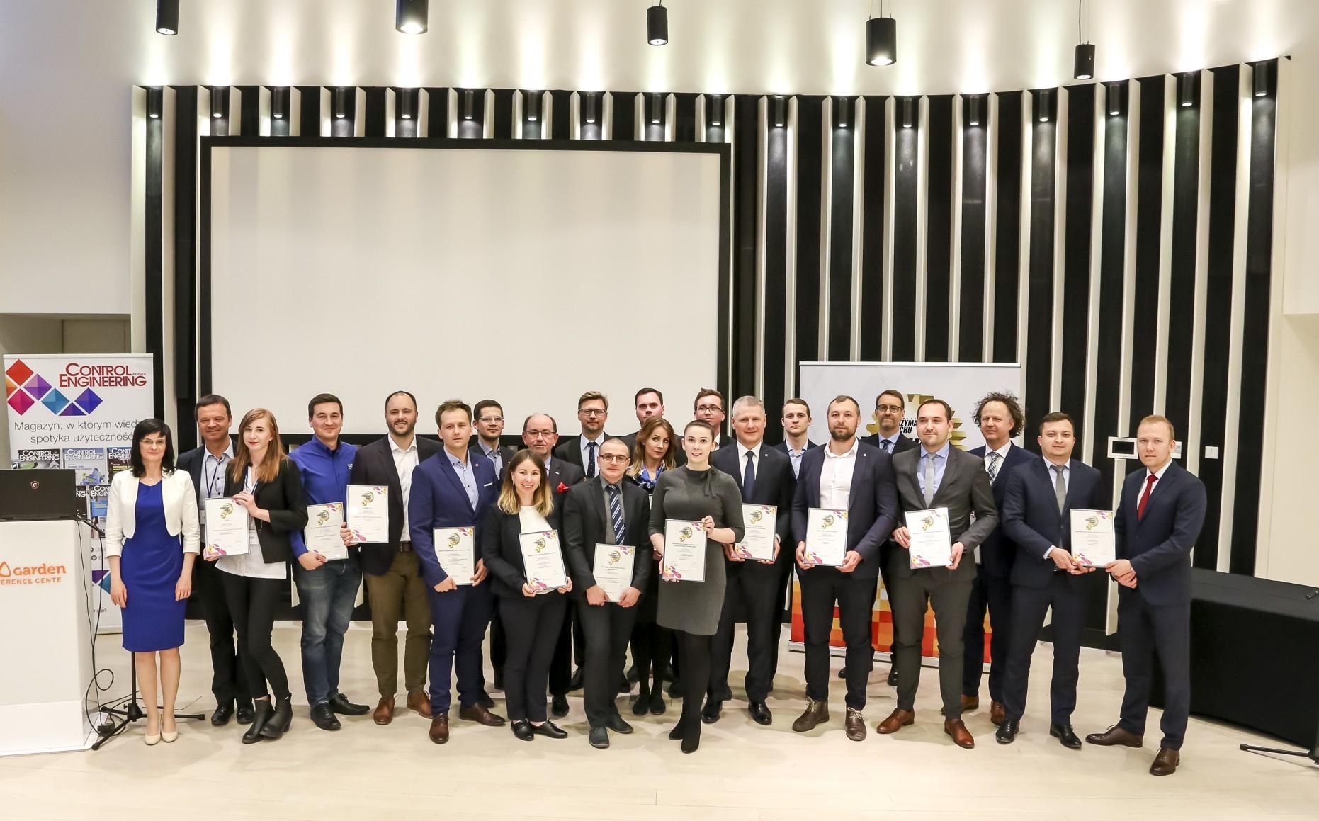 Laureaci Produkt Roku 2018 w konkursie Inżynieria i Utrzymanie Ruchu