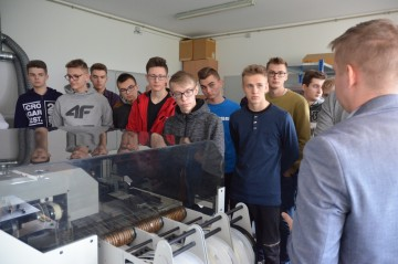 Young mechatronics pay avisit toWObit