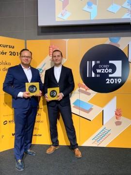 Dwie nagrody w Konkursie Dobry Wzór dla MOBOTa firmy WObit