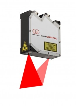 Laser scanners from the scanCONTROL 25xx series for industrial applications