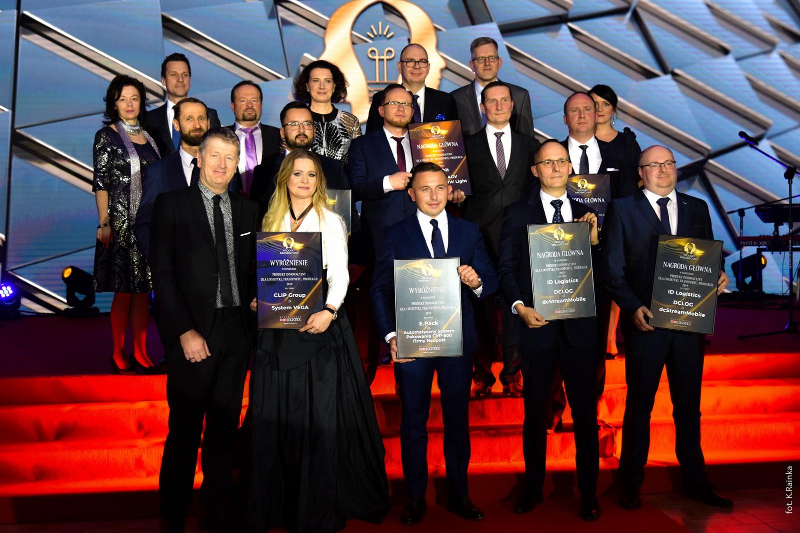 Nagroda Główna za Produkt Innowacyjny dla Logistyki, Transportu, Produkcji 2019 dla WObit!